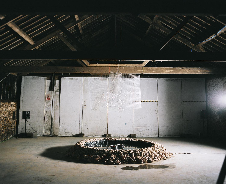Sound and light installation