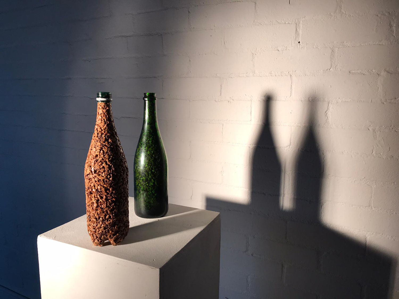 Bottle sculpture