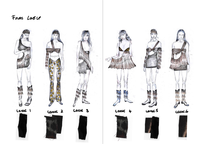 Fashion Illustration Line-up