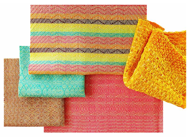 Weave samples