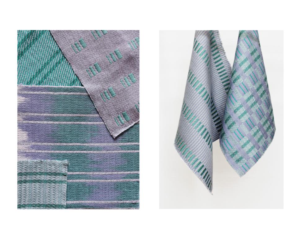 Woven textile samples