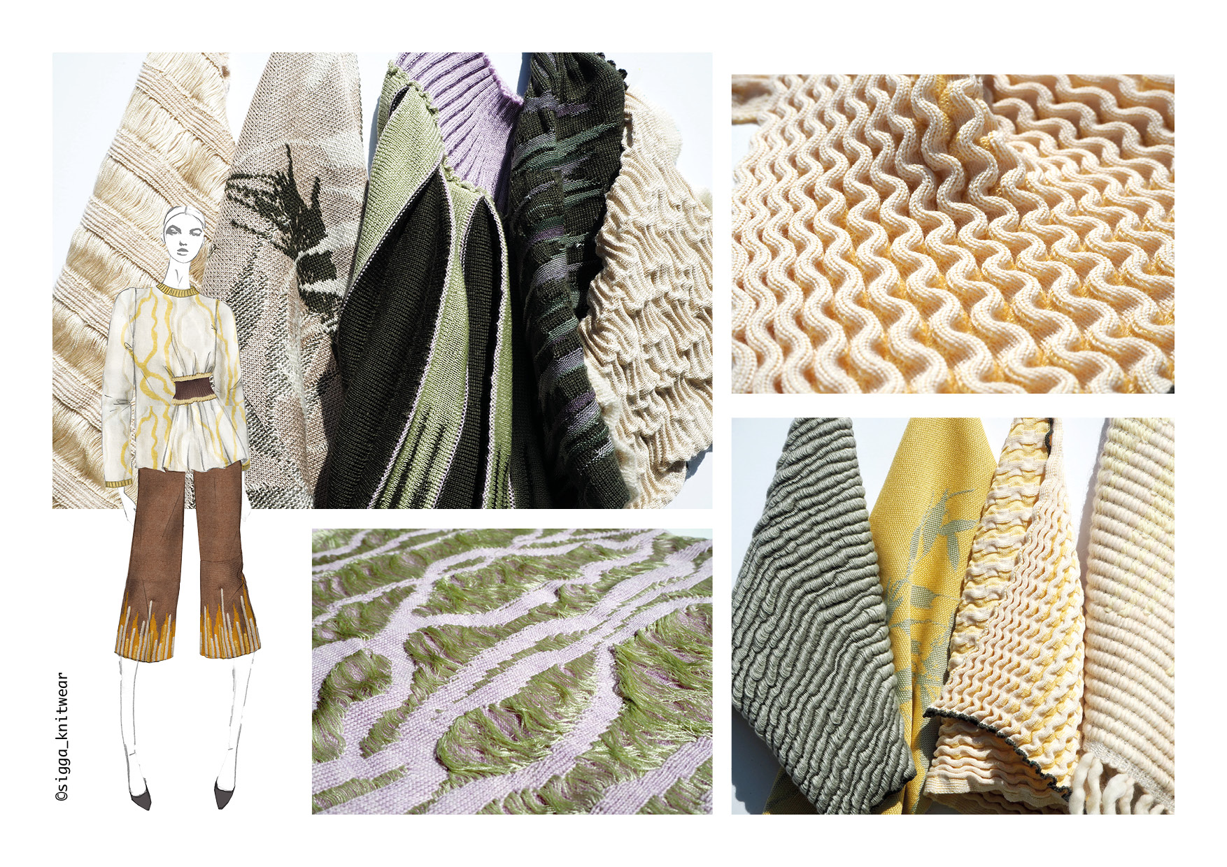 Silk and Cashmere Knits