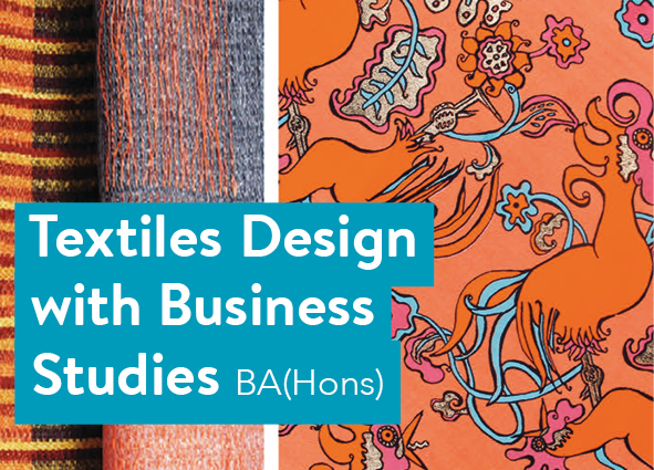 Textiles Design with Business Studies BA(Hons)