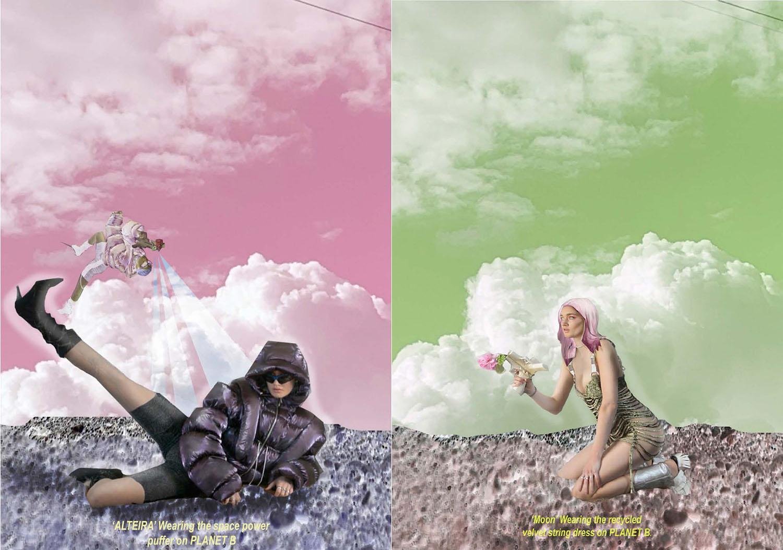 Fashion illustration/photography