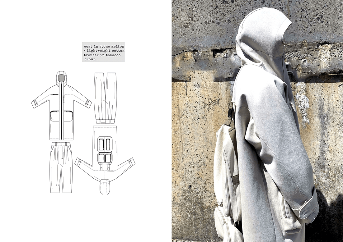 Technical Drawing and Collection Photograph