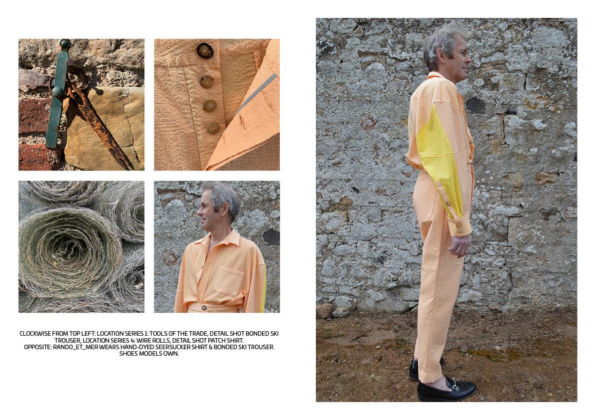fashion model menswear