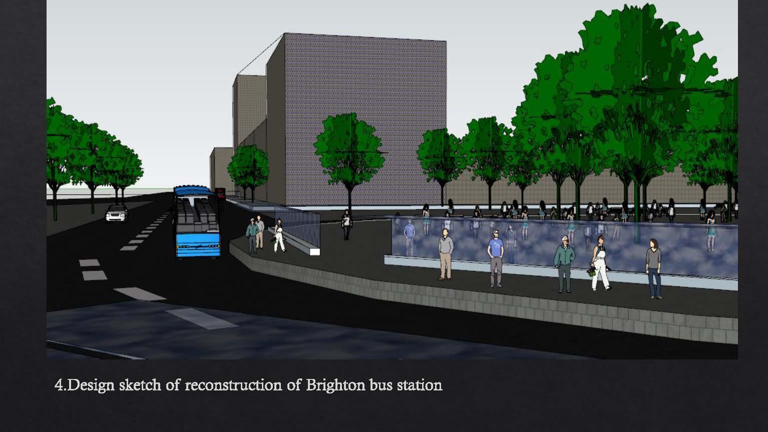 Reconstruction of Brighton bus station