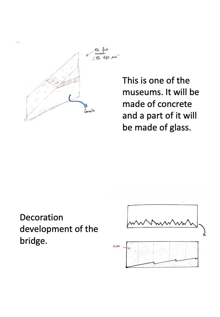 architectural design sketch