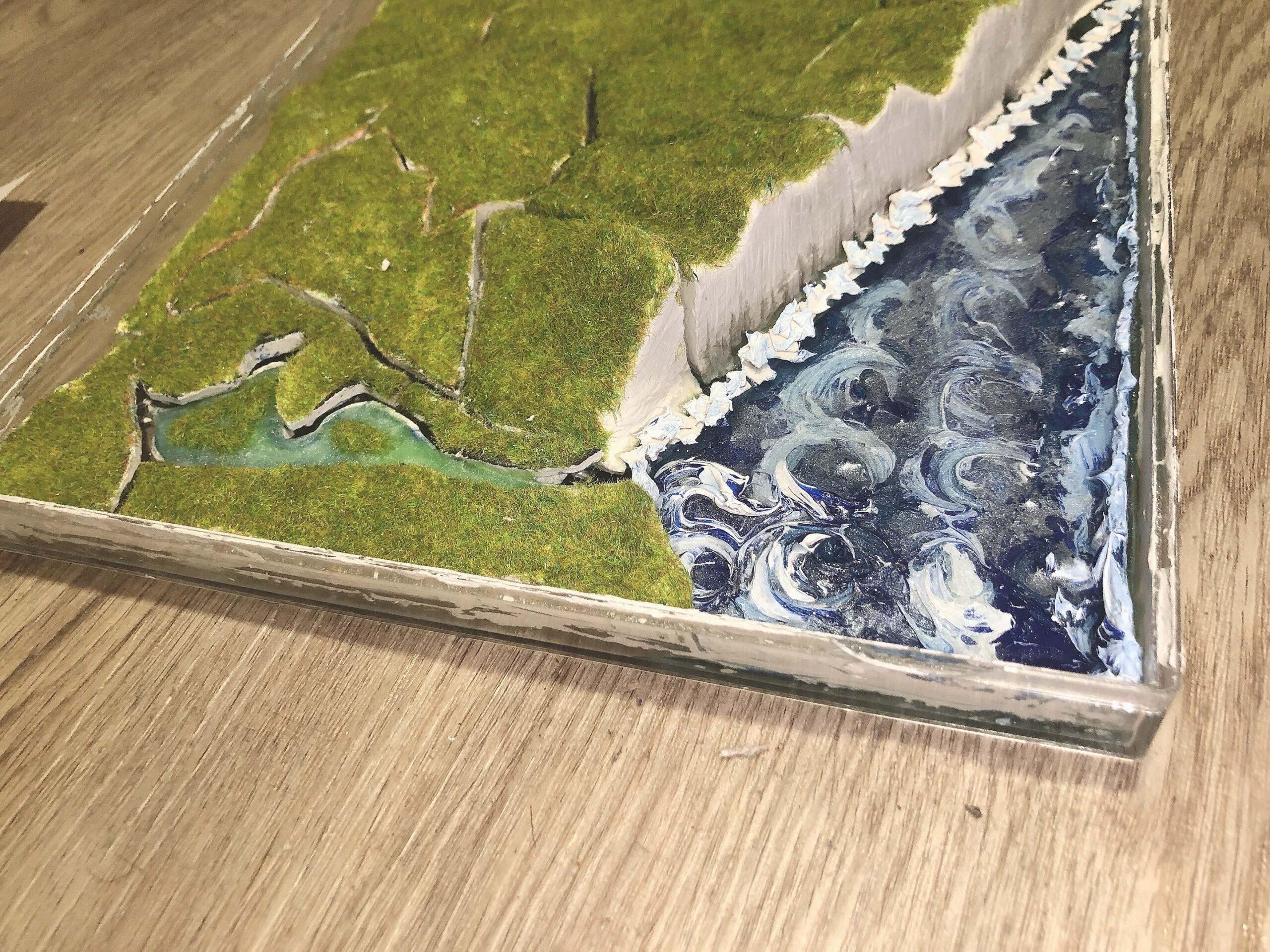 architectural landscape model