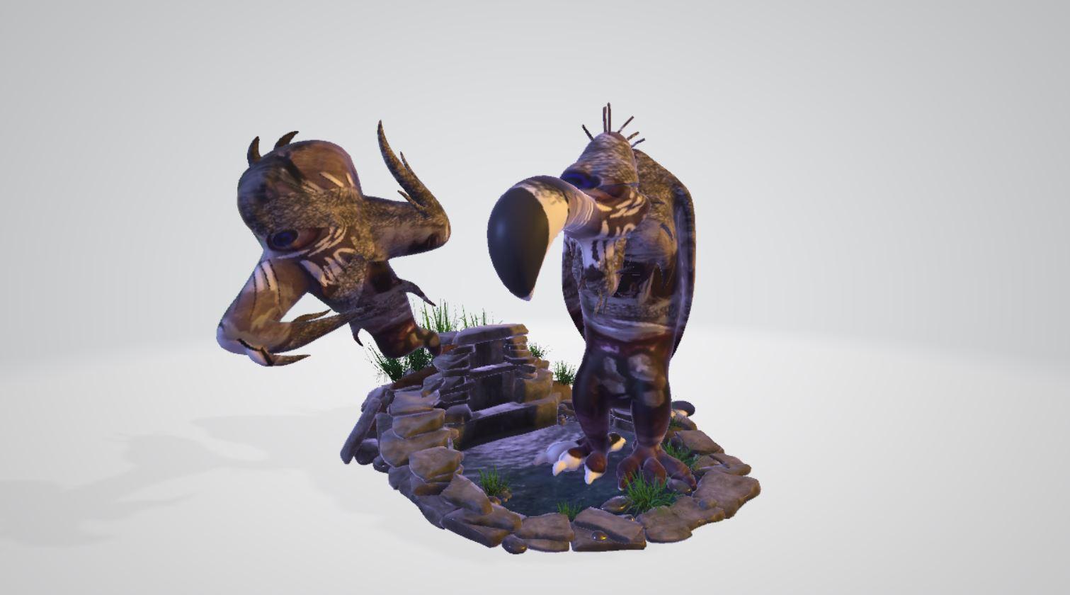 CGI character figures